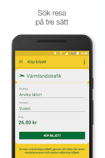 Värmlandstrafik- screenshot thumbnail