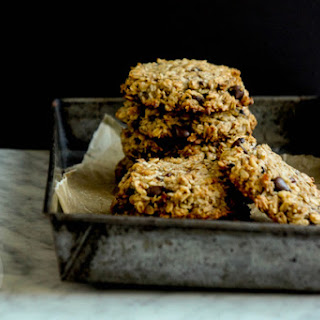 Oat, Coconut and Cacao Cookies (Flourless, Eggless, Sugar-Free, Dairy-Free) Recipe