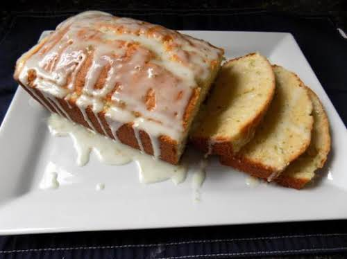 """Lemon Lime Iced Pound Cake """"I made your recipe today and WOW..."""