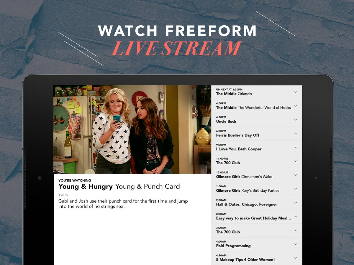 Freeform – TV & Full Episodes- screenshot