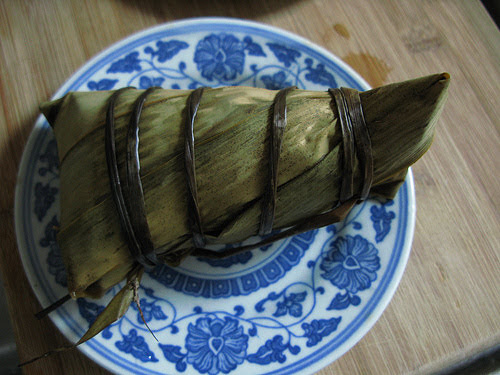 bamboo leaves, chinese, dragon boat festival, duanwu, glutinous rice, recipe, rice dumpling, salted duck egg, zhong zi, zhongzi, pork, meat, zong zi, zongzi, 粽子, 肉粽子