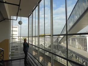 Photo: 29 0oktober 2016 CREO Rotterdam / Delft, Van Nelle fabriek: uitzicht van één na hoogste verdieping