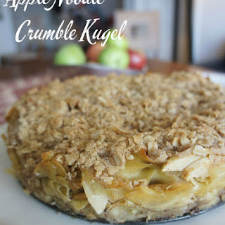 Apple Kugel Crumble Cake.