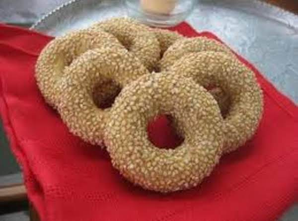 Whole Wheat Sesame Seed Cookies