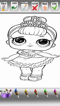 Download Lol Boneka Mengejutkan Telur Dan Hewan Peliharaan Mewarnai