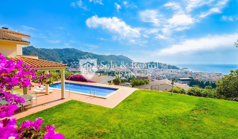 Maison avec piscine et terrasse Tossa de Mar