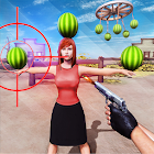 Watermelon Shooter: Free Fruit Shooting Games 2019 icon