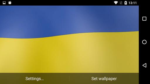 Ukraine Flag Live Wallpaper  screenshots 5
