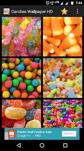 Candies Wallpaper HD - náhled