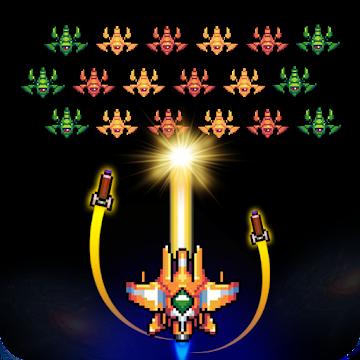 Galaxiga – Classic 80s Arcade Space Shooter MOD APK 3.1 (Mega Mod)