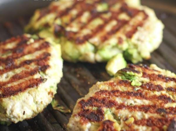 Chicken Avocado Burgers Recipe