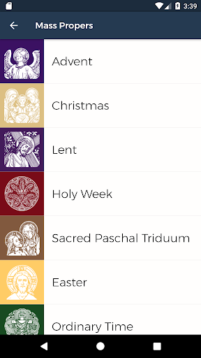 Screenshot for Square Note: Gregorian Chant in United States Play Store