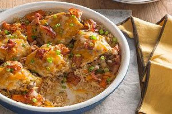 Brown Rice And Chicken Bake Recipe
