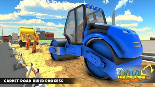 Mega City Road Construction Machine Operator Game modavailable screenshots 13