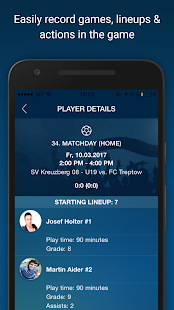 Soccer Team Manager- screenshot thumbnail