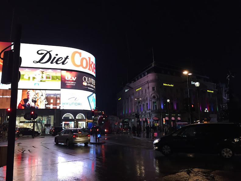 ロンドン 夜