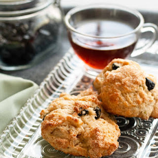 Blueberry Lemongrass Scones.