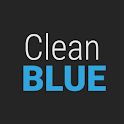 GO Contacts Clean Blue Theme