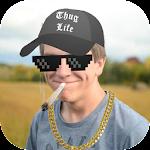 Thug life photo sticker maker