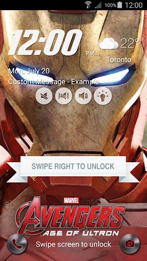 Lock Screen inspired Iron Man