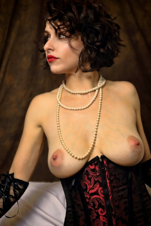 by Todd Yoder - Nudes & Boudoir Boudoir ( boudoir, color, backdrop, pearls, necklace, nude, female )