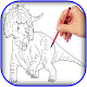 Download how to draw dinosaurs For PC Windows and Mac