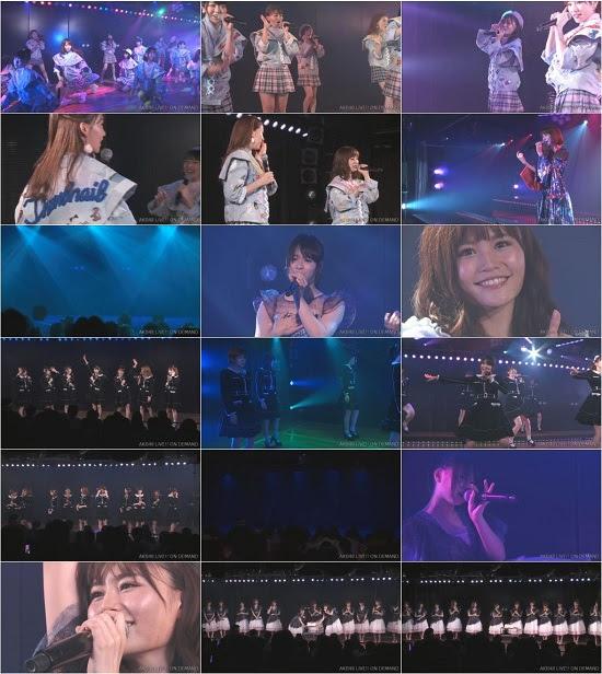 (LIVE)(720p) AKB48 「サムネイル」公演 込山榛香 生誕祭 Live 720p 170912