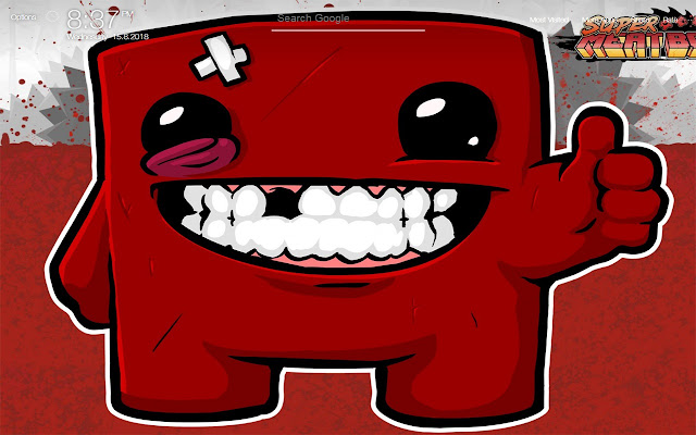 Super Meat Boy Game Wallpapers Hd New Tab