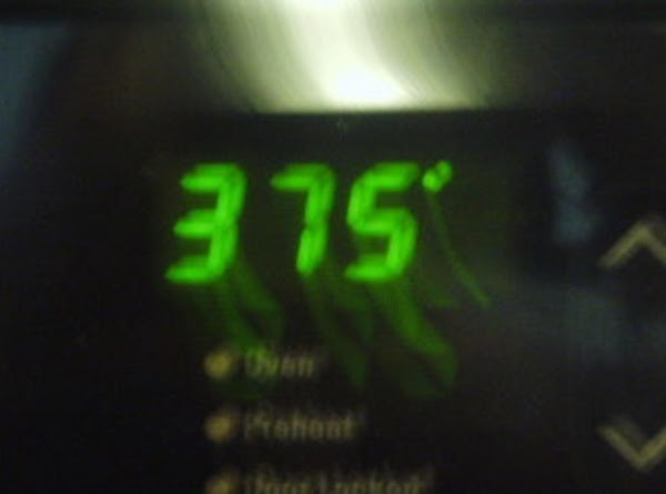 Preheat oven to 375*F