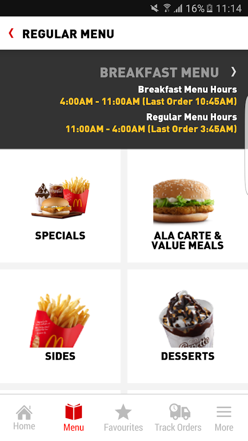 McDelivery Malaysia- screenshot