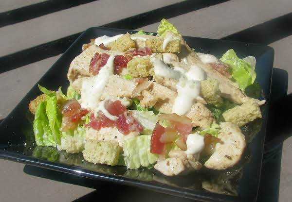 Easy Cajun Chicken Caesar Salad image