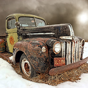 ~snow storm ford~ by Kirk Kimble - Transportation Other