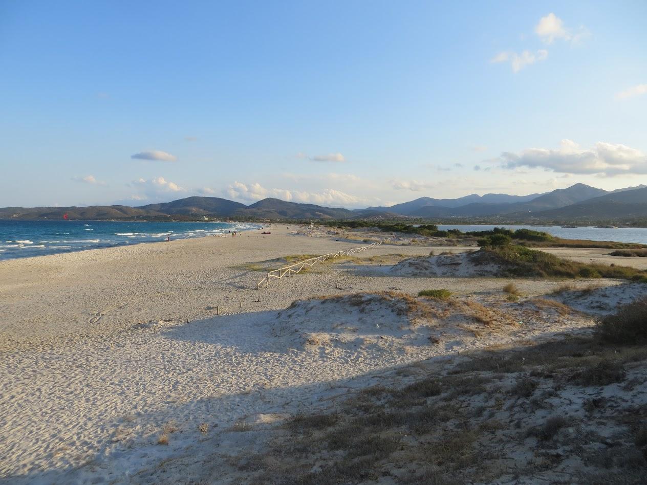 Пляж Ла Синта. Вид с дюн.