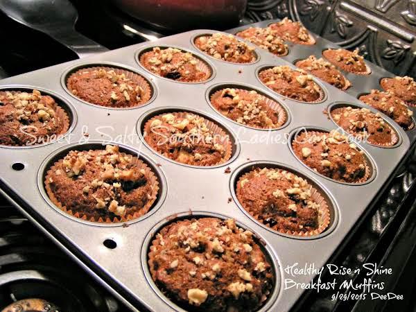 Healthy Rise N Shine Breakfast Muffins