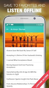 Alanon Personal Recovery Stories Al-Anon & Alateen- screenshot thumbnail