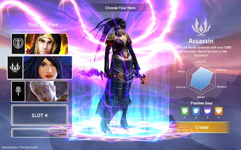 Dawnblade Mod Apk 0.8.6 (Unlimited Gold/Crystals) 3