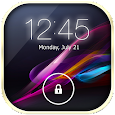 Lock Screen Xperia Theme apk