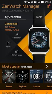 ZenWatch Manager Screenshot 2