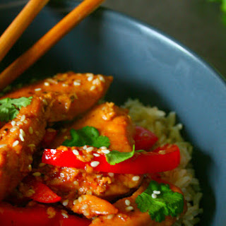 Clean Eating Honey, Soy & Sesame Chicken Stir Fry (Ready in 20 minutes).
