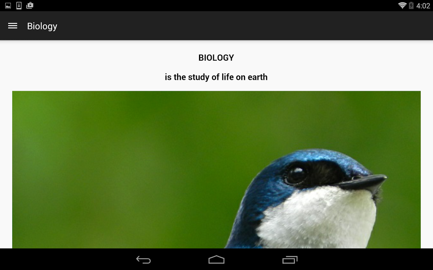 ClassApp: Biology at UofT Free- screenshot