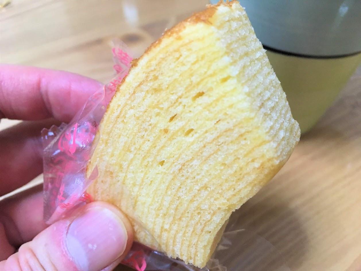 ファミマ バウムクーヘン バター
