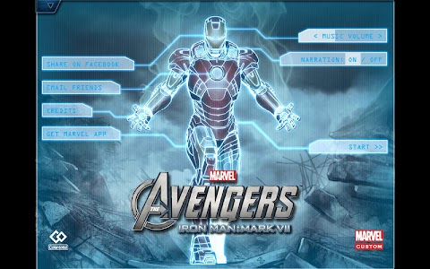 The Avengers-Iron Man Mark VII 1 4 + (AdFree) APK for Android