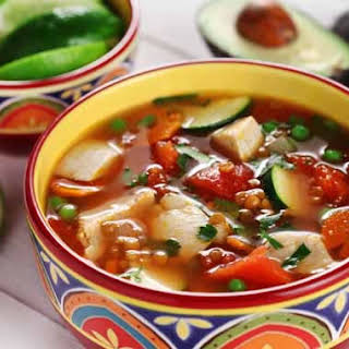 Sopa De Pollo a la Mexicana – Mexican Chicken Soup.