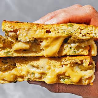Gluten-free Cauliflower Cheese Toastie.