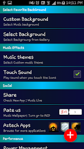 Music Live wallpaper screenshot 4