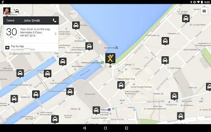 mytaxi – The Taxi App Screenshot 7