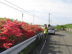 Photo: 毎年石巻から自走でスポーツクラス走って、フリマでお土産買って自走で帰るOさん。今年はコース整備も手伝ってくれた。