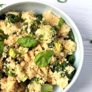 Rice Cooker Cheese & Broccoli Quinoa Casserole