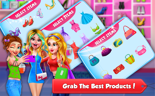 Shopping Mall Girl Cashier Game 2 - Cash Register  screenshots 4