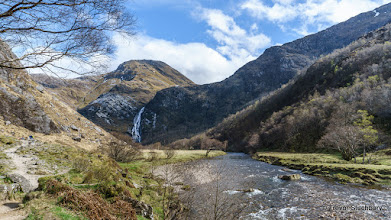 Photo: Steall Waterfall and Upper Glen Nevis